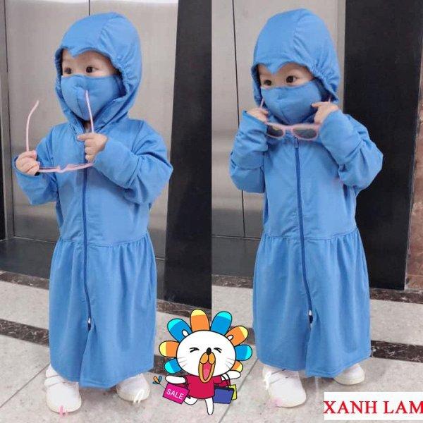 Giá bán 💖 SIÊU SALE 💖 áo khoác chống nắng cho bé trai và bé gái - Size từ 10-40 kg