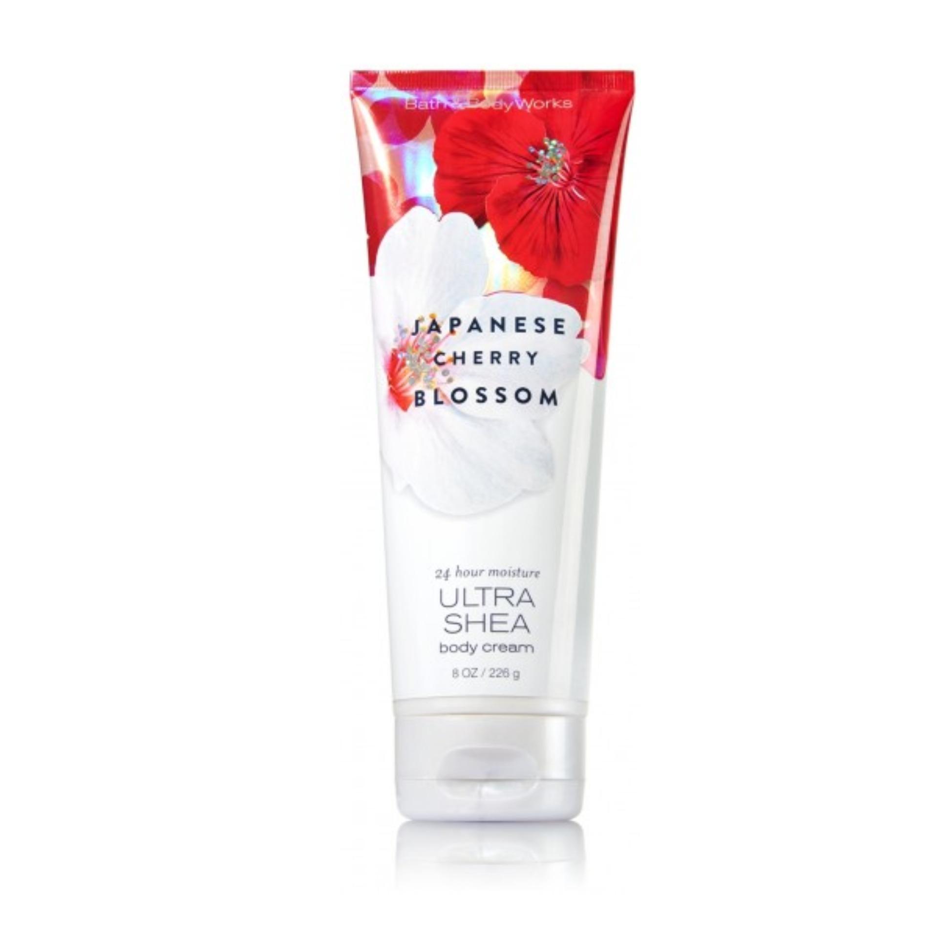 Sữa dưỡng thể Bath&Body Works Cherry Blossom 24h Utra Shea Body Cream 226g nhập khẩu