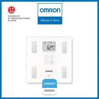 Máy Đo Thành Phần Cơ Thể & Lượng Mỡ OMRON HBF-222T Bluetooth, Công Nghệ Hiện Đại Không Dây Bluetooth, Hiển Thị Trọng Lượng Cơ Thể Tăng, Đánh Giá Tỷ Lệ Mỡ Cơ Thể, BMI, Tỷ Lệ Cơ Xương, Dễ Sử Dụng. thumbnail