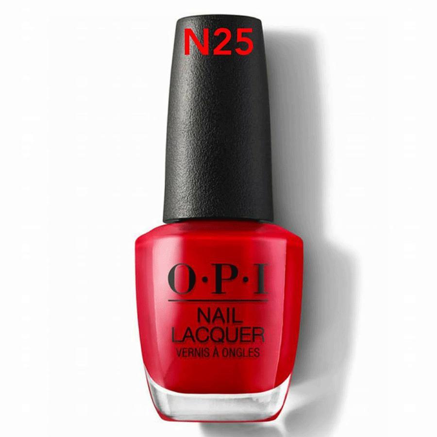 Sơn móng OPI -  NL N25 Big Apple Red 15ml (Red) tốt nhất