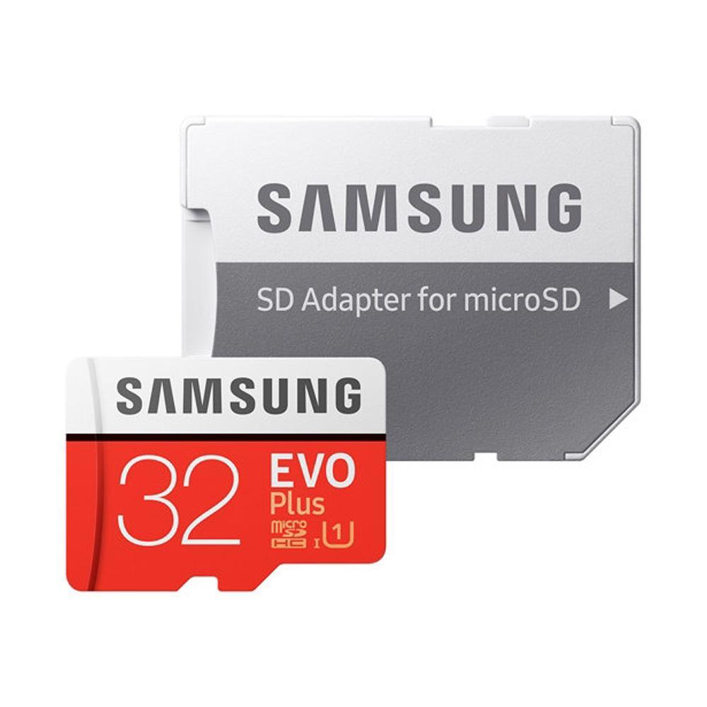 Thẻ nhớ Samsung MicroSDHC EVO Plus Adapter (Màu đỏ)