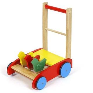 Xe tập đi gỗ hình con gà đáng yêu cho bé thumbnail