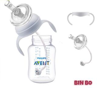 Combo ống tập hút mybaby cho bình sữa Avent và tay cầm cho bình sữa Avent thumbnail