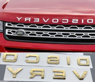 Tem logo chữ nổi DISCOVERY trang trí xe (MÀU VÀNG) thumbnail