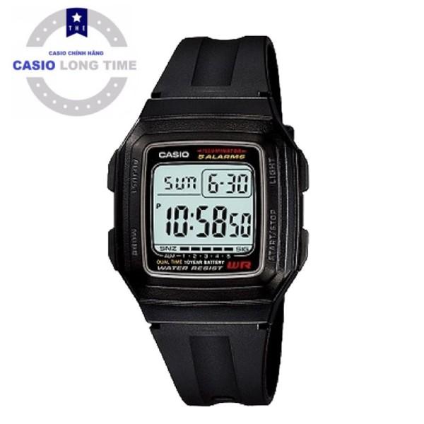 Đồng hồ nam Casio F-201WA-1ADF chính hãng - PIN 10 năm