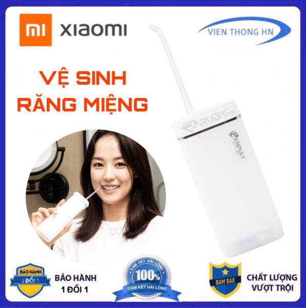 Máy tăm nước Xiaomi Enpuly M6 - Xịt vệ sinh răng miệng - dụng cụ làm sạch răng miệng - vienthonghn