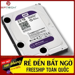 HDD FREESHIP Ổ CỨNG HDD PC Western Digital 2TB Purple (Chuyên Camera) - BH 24 THÁNG SPTECH COMPUTER thumbnail