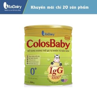 Sữa bột Colosbaby số 0+ cho bé lon 400g thumbnail