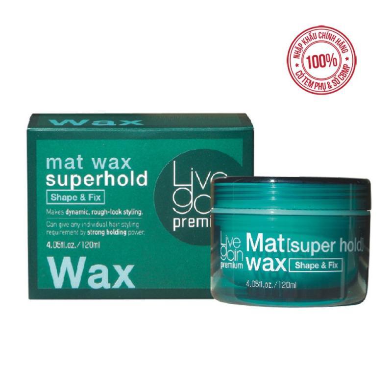 Sáp CỨNG Livegain Premium Mat Wax 120g Hàn Quốc nhập khẩu