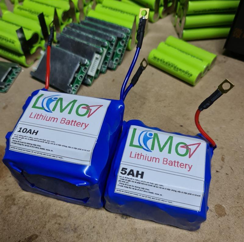 Bình acquy Lithium xe máy (2 mẫu 5AH và 10AH). Bình kích đề xe máy - LIMO