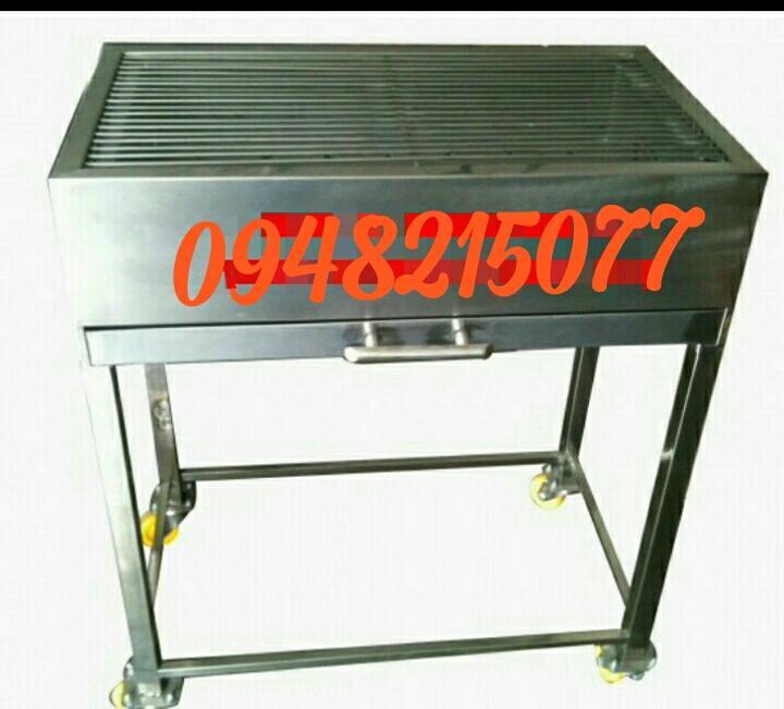 Giá lò nướng than inox. kt 60x40x75 (DxRxC)