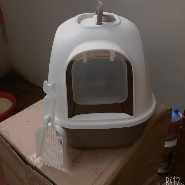 Nhà vệ sinh cho mèo( kèm xẻng )