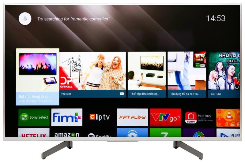 Bảng giá Android Tivi Sony KD-49X8500G/S 4K 49 inch màu bạc