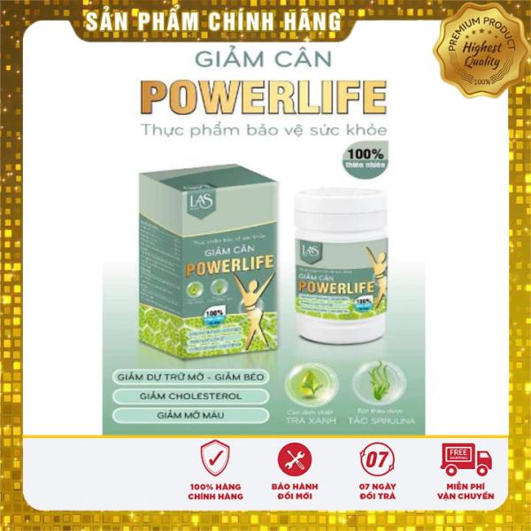[CHÍNH HÃNG] Trà sữa giảm cân POWERLIFE LAS BEAUTY loại to 420gr cao cấp