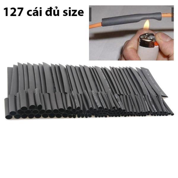 Bộ 127 Ống Gen Co Nhiệt, Gen nối dây điện 220V, Nối dây điện xe máy, Cách Điện 2mm, 2.5mm, 3.5mm, 5mm, 7mm, 10mm, 13mm Đủ SIZE