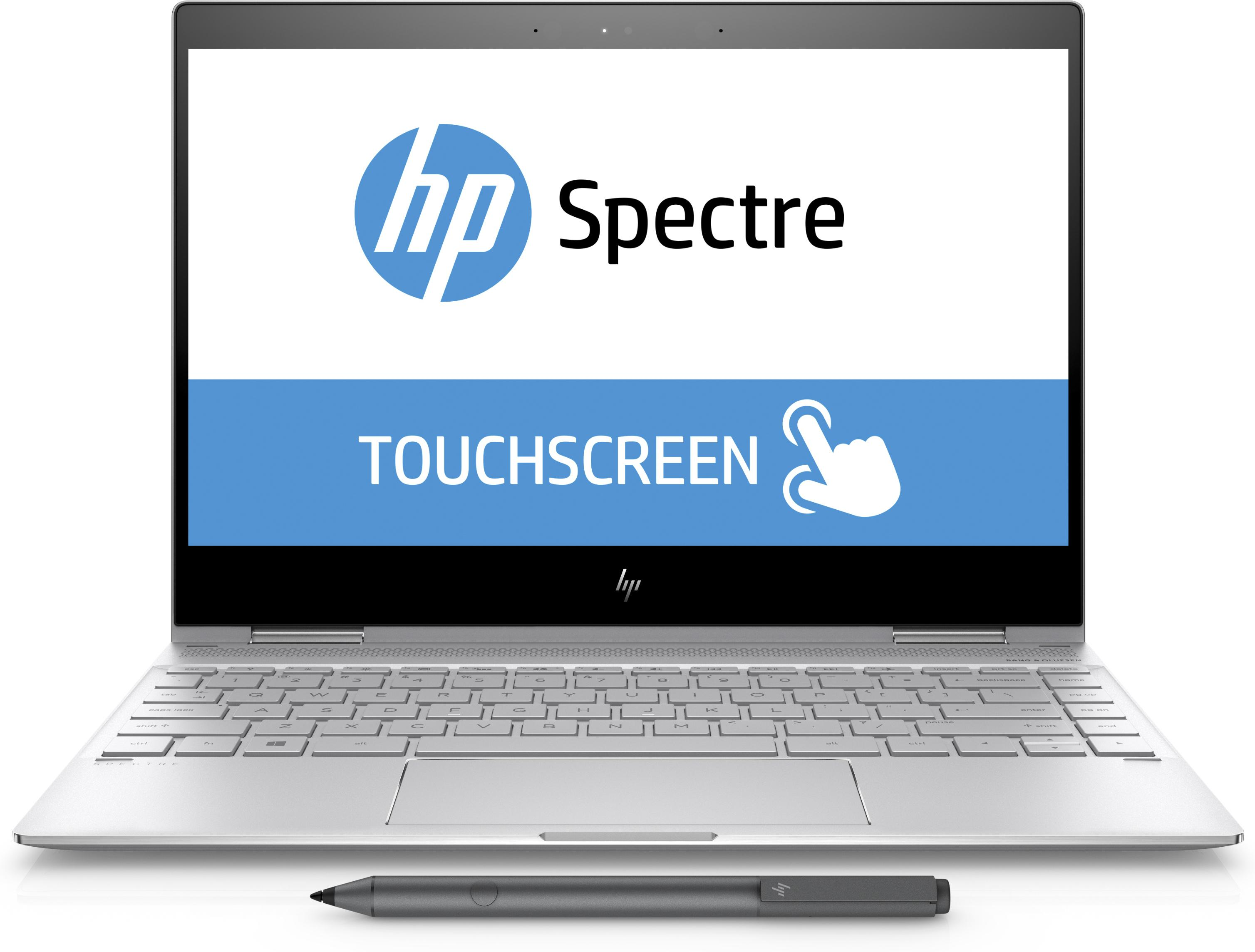 """Laptop HP Spectre X360 13-AE011DX (Core i7-8550U/ 8GB RAM/ 256GB-SSD/ 13.3""""FHD/ Touch Flip/ Win 10) + Tặng Bút cảm ứng Stylus - Silver - Hàng Nhập Khẩu"""