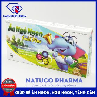 Ăn Ngủ Ngon Gold Plus cho bé từ 2 tuổi - bổ sung kẽm, taurin, vitamin giúp bé tăng sức đề kháng, tiêu hóa khỏe - Hộp 20 ống x 10ml chuẩn GMP thumbnail