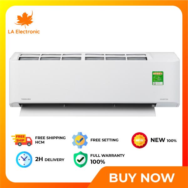 [GIAO HÀNG 2 - 15 NGÀY TRỄ NHẤT 15.09] Trả Góp 0% - Máy lạnh Toshiba Inverter 2 HP RAS-H18C2KCVG-V - Miễn phí vận chuyển HCM