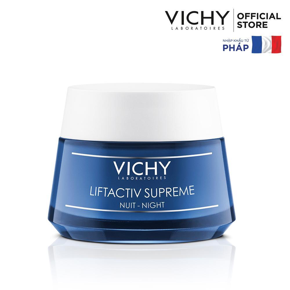 Kem dưỡng mờ vết nhăn và làm săn chắc da ban đêm Vichy Liftactive Night Cream 50ml