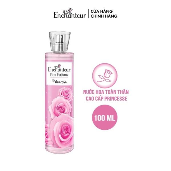 [Deal] Nước hoa toàn thân cao cấp Enchanteur hương Princess 100ml/chai (1 chai) nhập khẩu