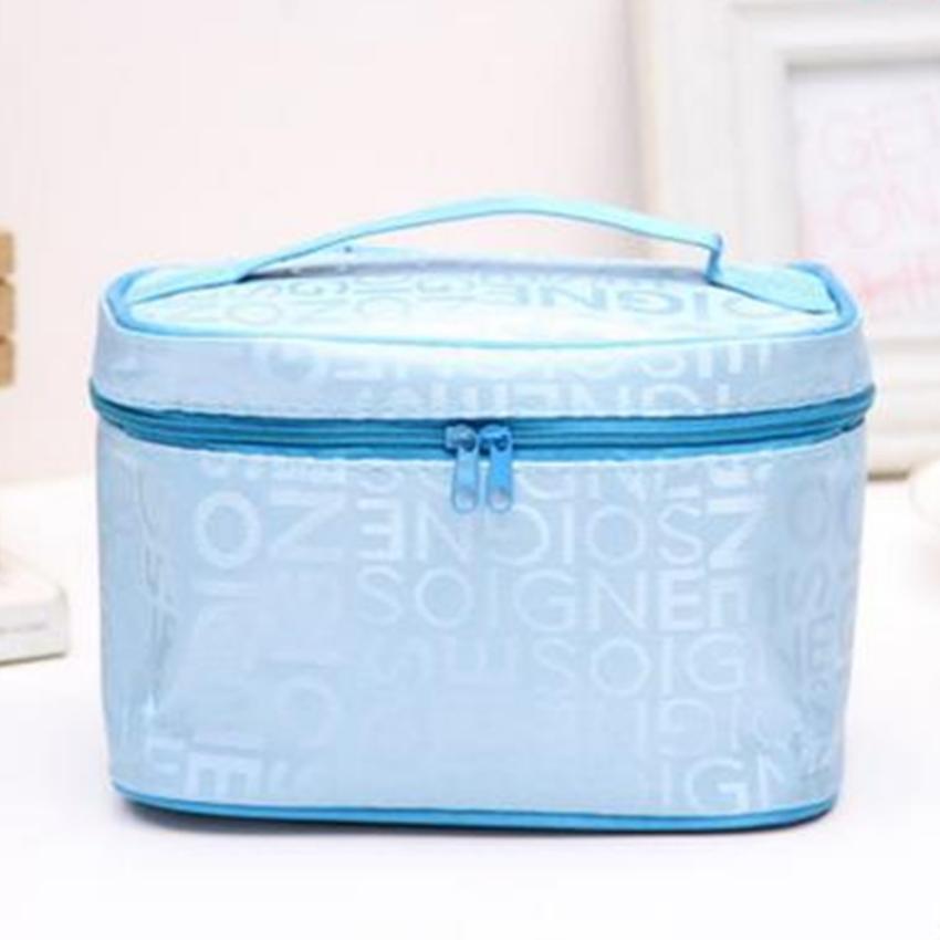 Túi Đựng Đồ Mĩ Phẩm, Du Lịch Có Kèm Gương 208074 4(xanh) tốt nhất