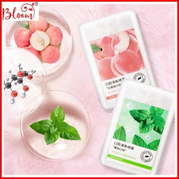 Xịt thơm miệng Heyxi Bac Hà Xịt thơm miệng kháng khuẩn giữ lâu mùi thơm HXTM giá rẻ
