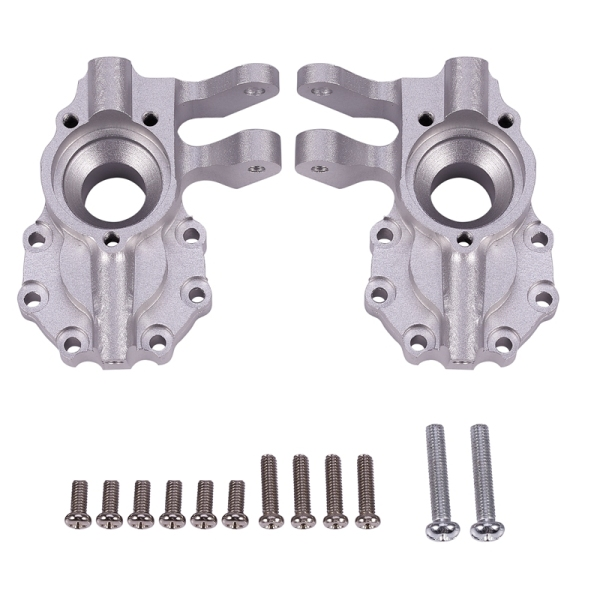 2Pcs Aluminum Alloy Portal Drive Housing Inner Front for 1/10 RC Crawler Traxxas TRX-4