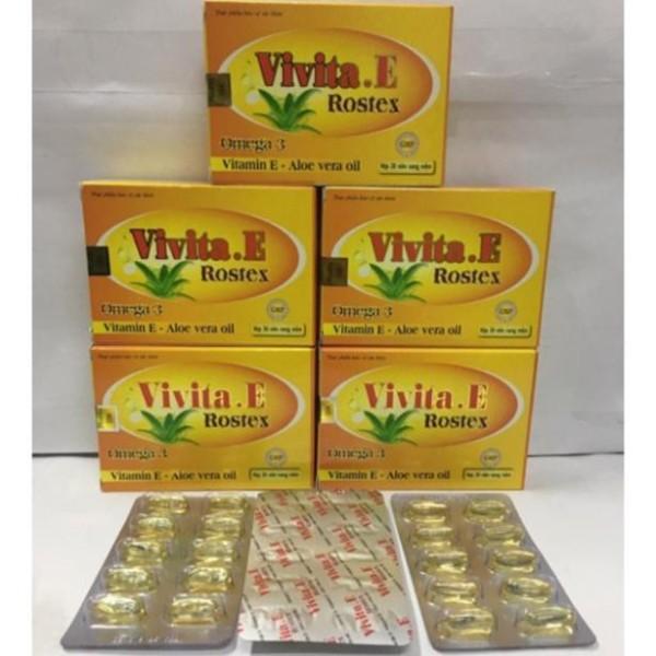 Vita E Bổ sung Vitamin E Hỗ trợ chống Oxy hoá, giúp sáng da, mịn da - Vàng giá rẻ