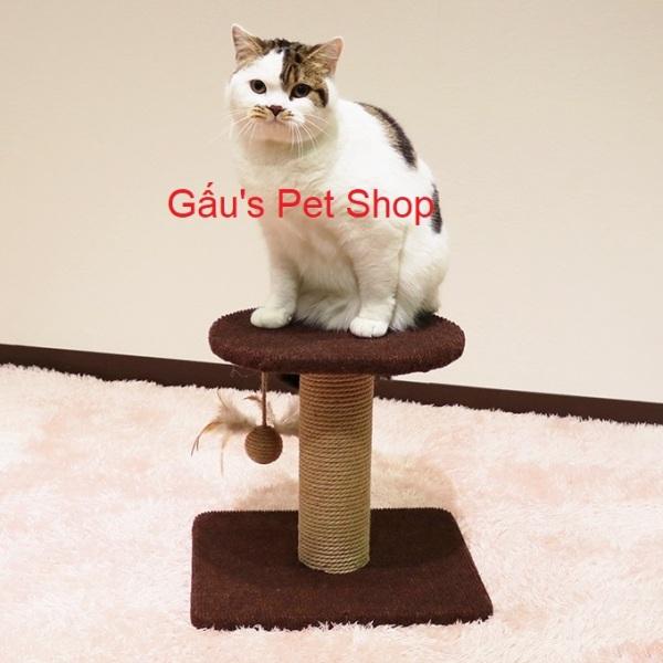 84191 - Trụ cào 2 tầng cho mèo CattyMan