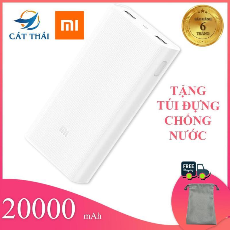 Giá Sạc Dự Phòng XiaoMi 2C 20000mAh Polymer sạc pin nhanh thích hợp các dòng điện thoại VIVO OPPO SAMSUNG Iphone