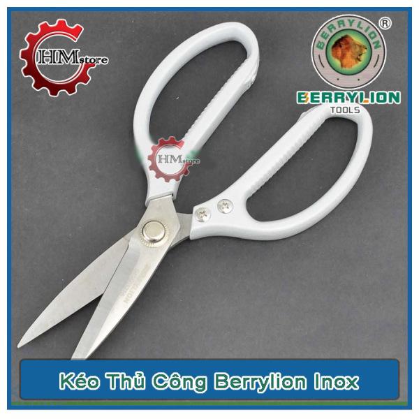 Kéo Đa Năng BerryLion - Kéo da inox vỉ BerryLion - Sử dụng phù hợp ở nhà bếp - Chất liệu inox RCL13