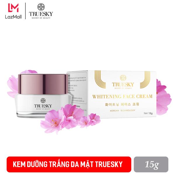 Kem dưỡng trắng da mặt Truesky dạng lotion thẩm thấu nhanh 15g - Whitening Face Cream
