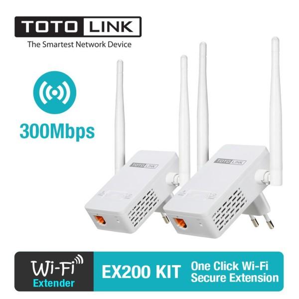 Bảng giá Bộ thu phát Totolink EX200 300Mbps Tốc Độ Đường Truyền Cao Bảo Hành 12 Tháng Phong Vũ