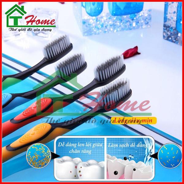 Combo 1 chiếc Bàn Chải Đánh Răng Làm Từ Than Hoạt Tính BOSSI Hàn Quốc - BOSSI 921 giá rẻ