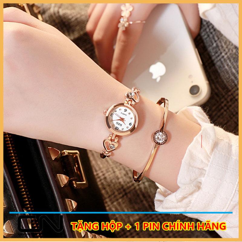 Đồng hồ nữ DZG dây dạng lắc thời trang