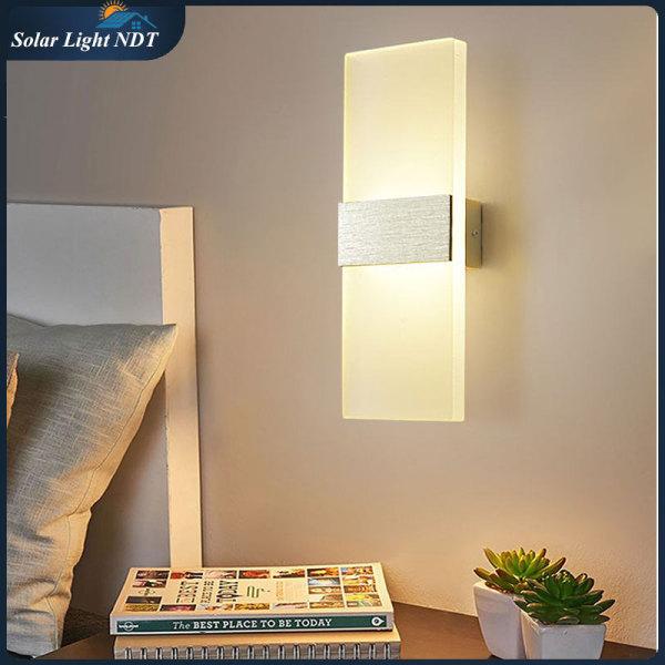 Đèn Gắn Tường Phòng Ngủ, Phòng Khách, Cầu Thang LED Decor Hình Khối Chữ Nhật - 3 chế độ ánh sáng Trắng/Vàng/Trung Tính