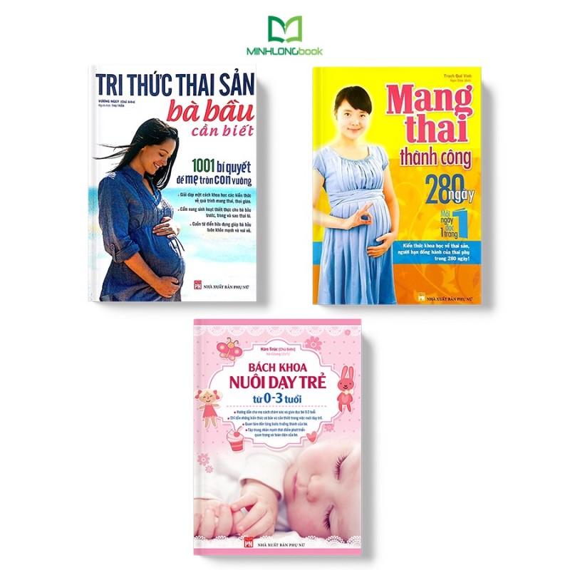 Sách: Combo Bách Khoa Thai Sản Và Nuôi Dạy Trẻ Từ 0-3 Tuổi