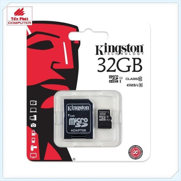 Thẻ Nhớ Micro SD Kingston 32G Class 10