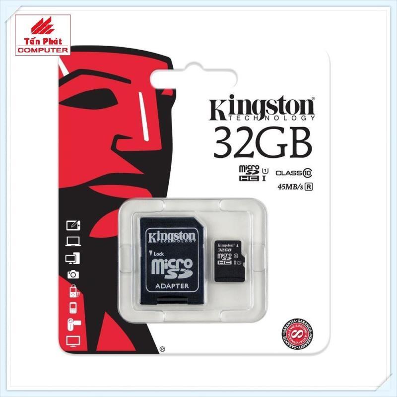 Thẻ Nhớ Micro SD Kingston 32G Class 10