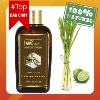 Tinh dầu sả chanh nguyên chất 100ml (Lemongrass) thumbnail