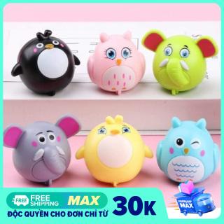 Con vật chạy đà siêu dễ thương chất liệu nhựa ABS cao cấp cho bé, đồ chơi trẻ em- Sochu Kid thumbnail