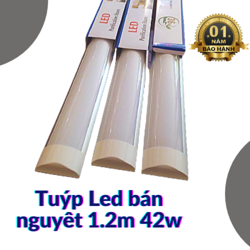 Tuýp LED bán nguyệt 1.2m 42w siêu sáng, tiết kiệm điện năng
