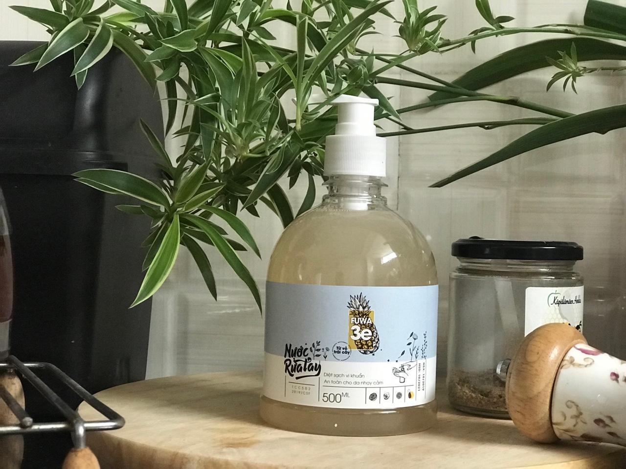 MUA2TANG1 Nước Rửa Tay Sinh Học Từ Vỏ Trái Cây Fuwa-3E