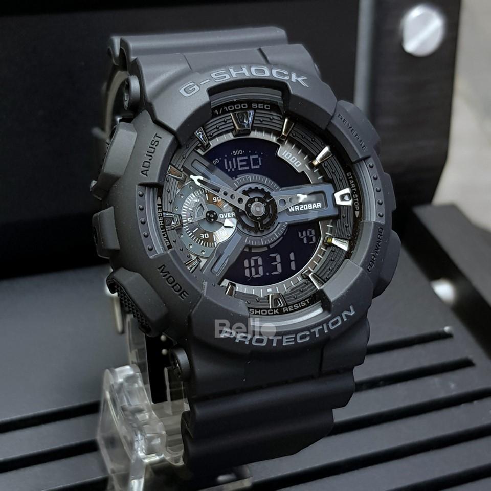 Đồng hồ thể thao nam G Shock - GA110 55mm điện tử chống nước đa năng (Màu Đen) bán chạy