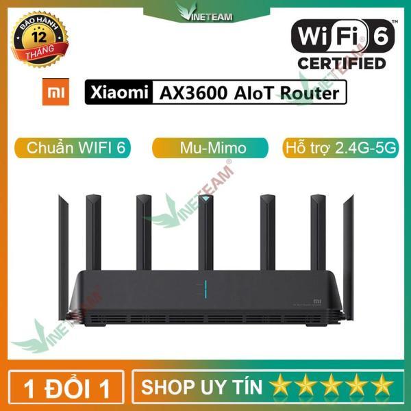 Bảng giá Xiaomi AIoT AX3600 Phát Wifi 6E Thông Minh - Giải Pháp Nhà Rộng Gaming Công Suất Lớn Phong Vũ