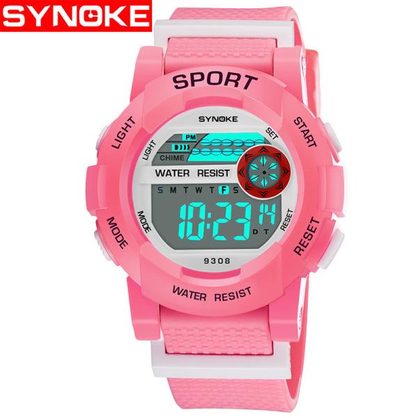 Nơi bán Đồng hồ trẻ em Synoke 9308 - đồng hồ bé gái thể thao điện tử dây cao su