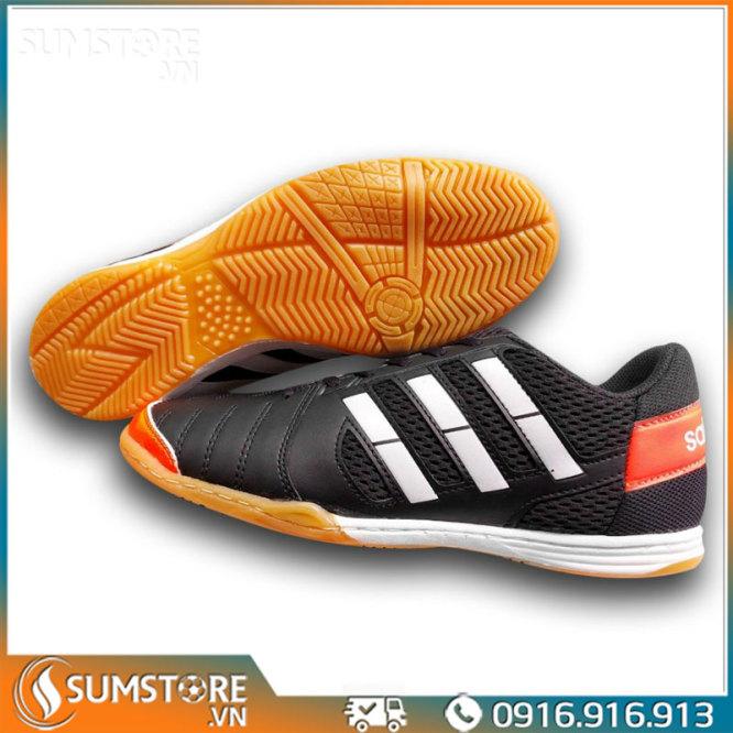 Giày Đế Bằng Đá Banh Futsal Winbro Sala Đen  - Giày Đá Bóng Mới 2021 (Tặng Kèm Vớ) giá rẻ