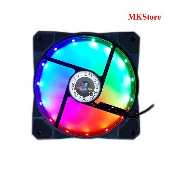 [Nhập ELJAN11 giảm 10%, tối đa 200k, đơn từ 99k]Quạt LED làm mát cho Case Fan LED Fuller 3 màu tĩnh 12cm