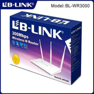 Bộ phát wifi 3 ăng ten - Router wifi LB-Link BL-WR3000 (Trắng)-Hàng phân phối chính hãng Nhỏ gọn hơn Bộ kích sóng wifi 3 râu Mercury (wireless 300Mbps) cực mạnh Tăng Sóng WifiKích Wifi Bộ Tiếp Nối Sóng Wi-F thumbnail