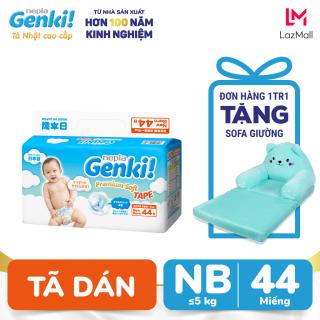 Tã dán Nhật cao cấp Genki NB44 - Gói 44 miếng (Cho bé từ sơ sinh đến 5kg) thumbnail